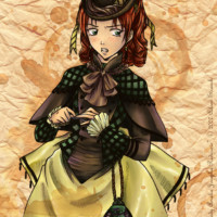 An original manga character who lives during the Victorian age.