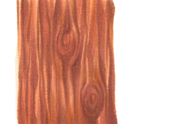 A tutorial on creating wood texture with markers.