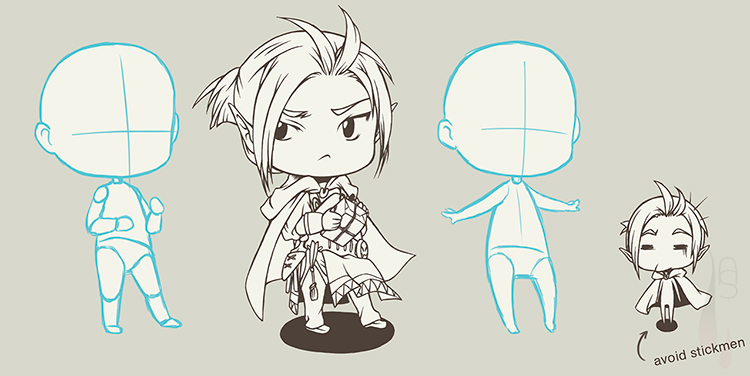 A tutorial on how to create a chibi character.