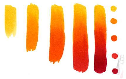 A tutorial on how to create colour gradients with markers.