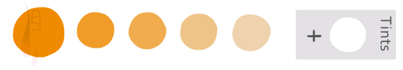 A tutorial on applying the analogous colour scheme.